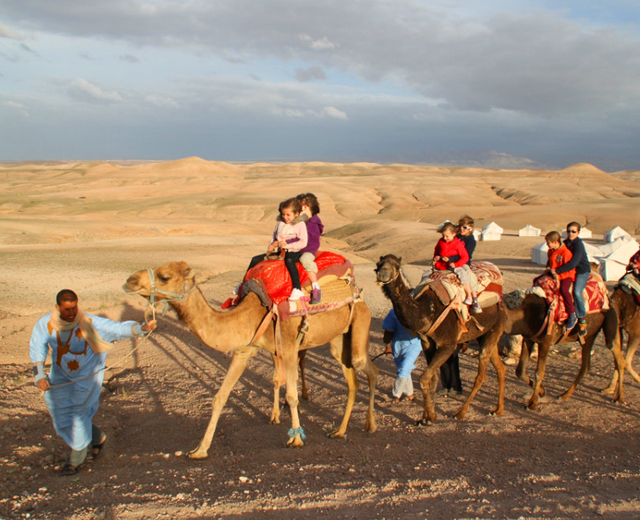 Day Trip to Agafay Desert & Camel ride from Marrakech