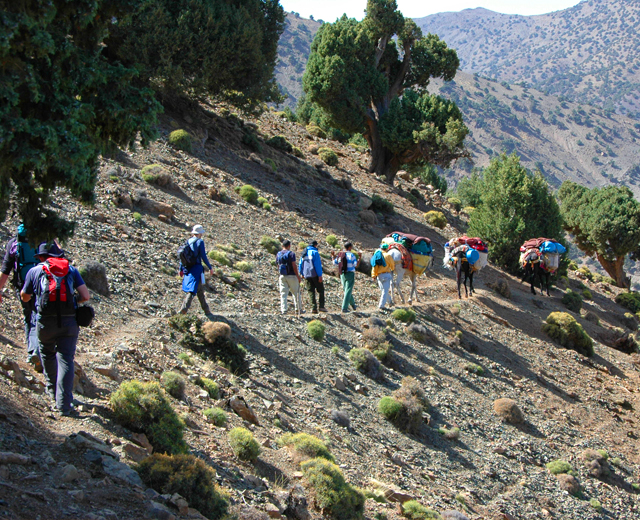 Atlas mountains & Berber villages 2 days 1 night trek from marrakech