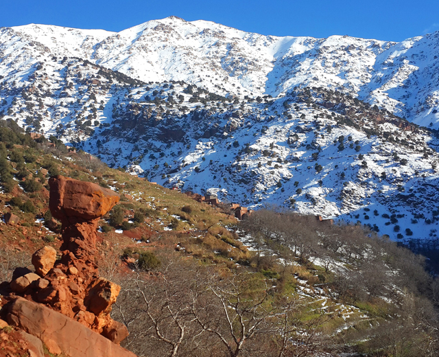 Atlas mountains & Berber villages 4 days 3 nights trek from marrakech