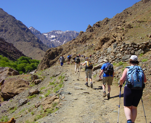 Atlas mountains, Mount toubkal & High Atlas 7 days 6 nights trek from marrakech