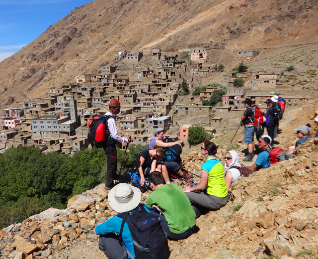 Berber Villages & 3 Valleys Atlas mountains 3 days 2 nights trek From Marrakech