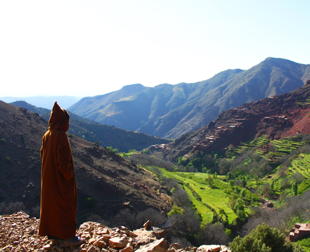 Trek to High Atlas mountains & Imlil valley 5 days 4 nights trek from Marrakech