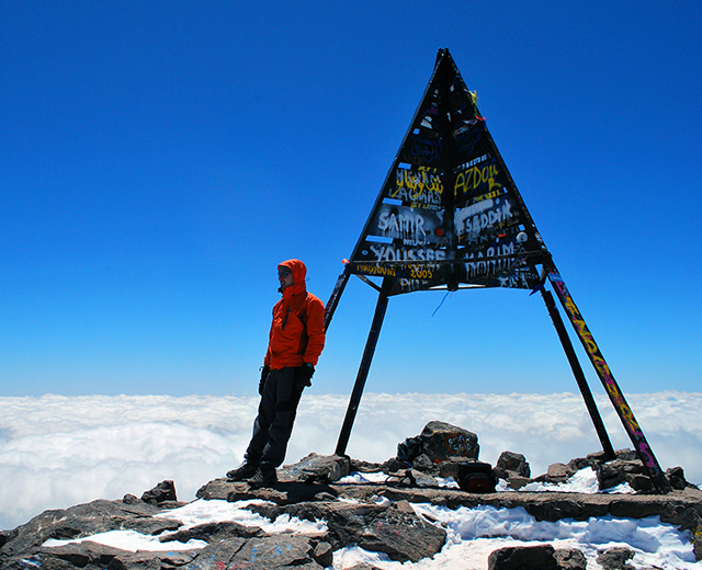 Mount Toubkal Summit 4167m 4 Days 3 nights trek from marrakech