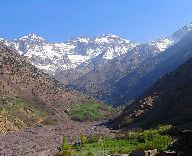 Toubkal ascent 2 days 1 night trek from Marrakech
