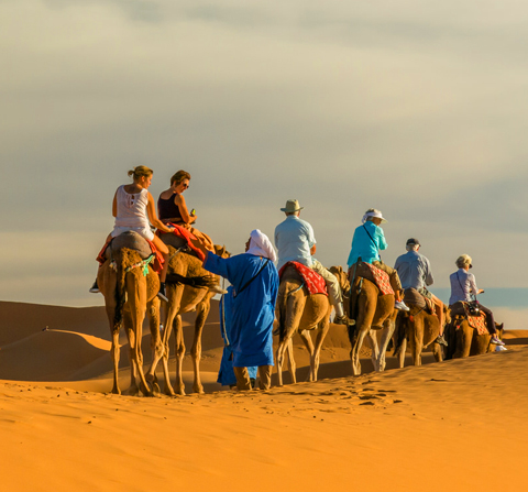 Tour 4 days : The south of the Moroccan Atlas & Desert Camel ride 4 days 3 nights Tour From Marrakech