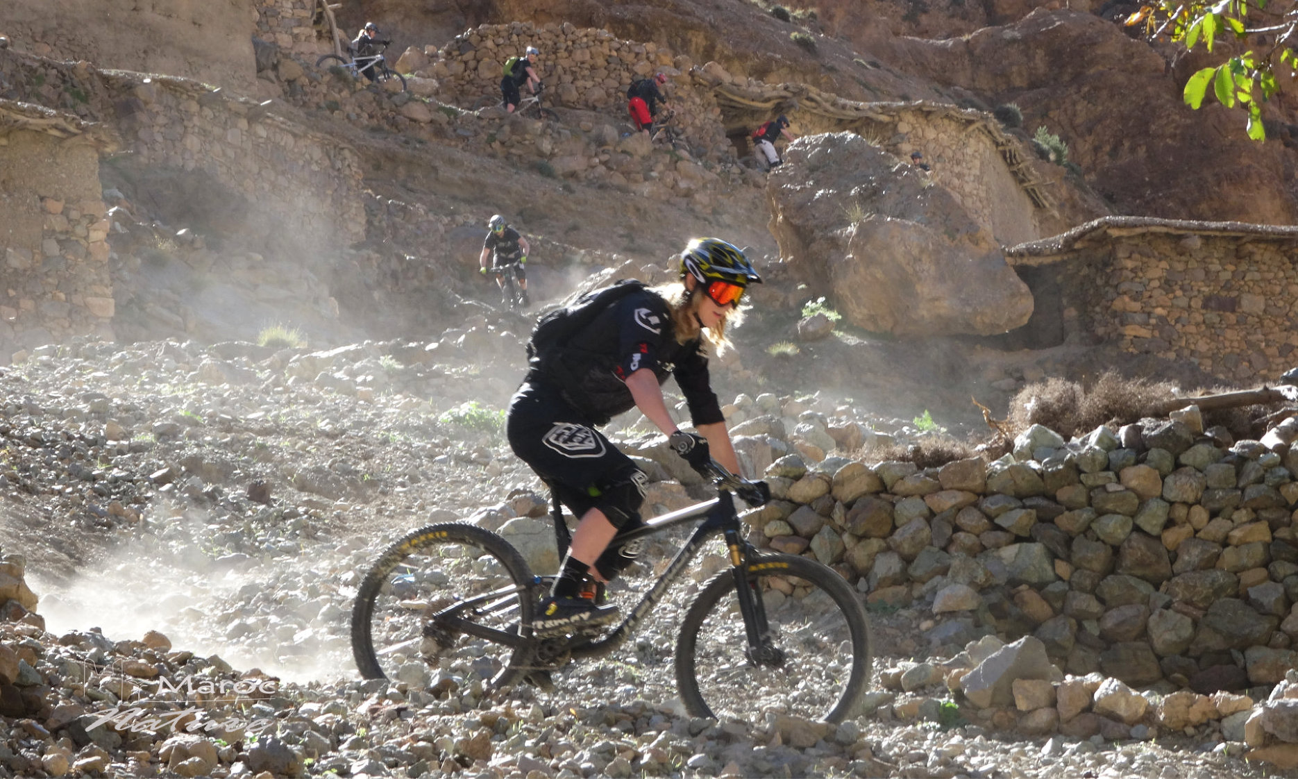 Marrakech to Atlas mountains via Imlil valley 5 days 4 nights mountains bike from marrakech