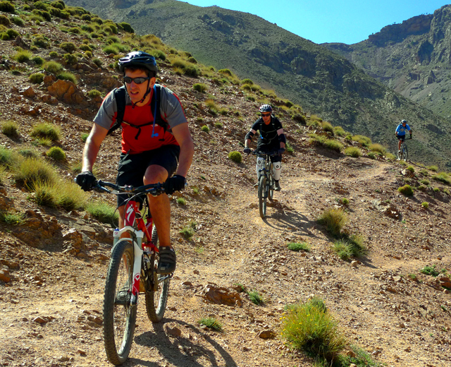 Trek 8 Days : The High Atlas mountains via the Ait Bougmez Valley 8 Days 7 nights mountains bike from marrakech