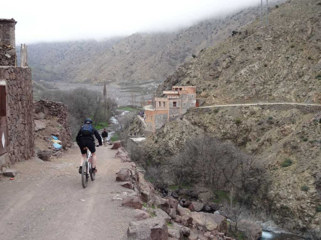 The High Atlas mountains via the Ait Bougmez Valley 8 Days 7 nights mountains bike from marrakech