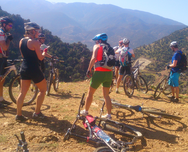Trek 8 Days : The South of Morocco, High Atlas and Valley of M'goun 8 days 7 nights mountains bike from Marrakech