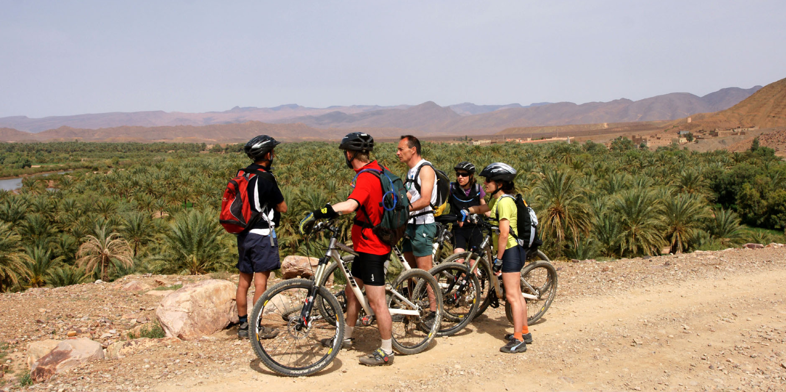 The South of Morocco, High Atlas and Valley of M'goun 8 days 7 nights mountains bike from Marrakech